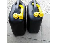 Jerry cans plastic 20L for 2