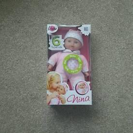 Lissi Nina Speaking Doll