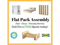 IKEA Flat pack assembly installer beds, drawers, wardrobes, TV Cabinets, furniture FREE Quote!