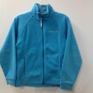 Columbia Sky Blue Zip Sweater (SKU: Q42Q3Q) - Previously Owned