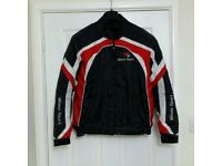 Motorcycle Jacket Milano Sport with protective pads