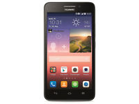 Nearly new Huawei G620s Black mobile phone 4G Unlocked