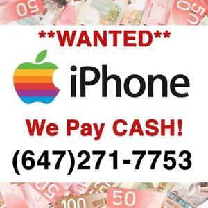 I will BUY your iPHONE for CASH! iPhone 6/6s/7/8/8 Plus/X