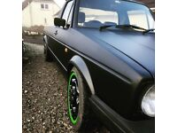 Mk1 Caddy Vw pick up like golf project