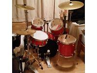 Rydeen 8piece drum kit new