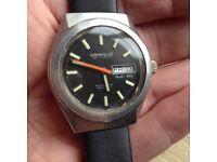 Caravelle Bulova Divers Vintage Watch Eta Movement
