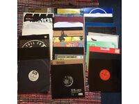 33 (Job Lot) assorted; House, Electro, D & B and Hip Hop Records