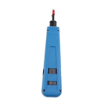 Impact Punch-Down-Tool für Ethernet-Netzwerk Telefon Kabel Drahtschneider ()