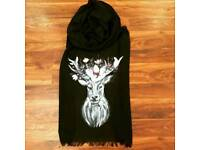 Beautiful hand painted scarf