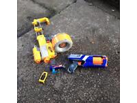 Nerf gun job lot guys needs a few of them paper bullets £20 posted anywhere in