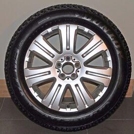 "Genuine Mercedes-Benz 19"" Alloy Wheels with Dunlop GrandTrek Tyres"