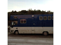 Fantastic 7.5t Horsebox for sale - Reduced