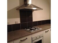 Coatbridge area. Spacious newly decorated 3 bedroom flat to let