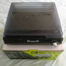 STEEPLETONE ST926 3-SPEED RECORD PLAYER