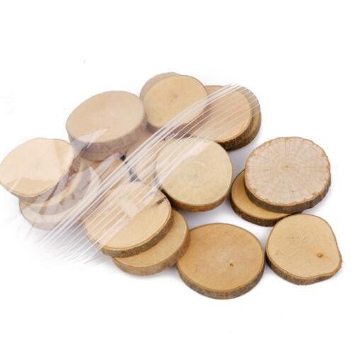 Pcs bulk wood slice for crafts rustic wedding