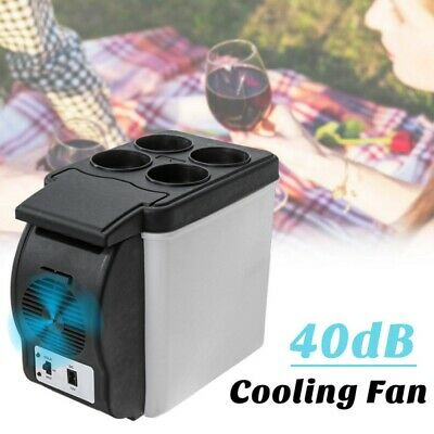6L Portable Car Refrigerator Fridge Cooler Warmer Freezer 12V Mini Fridge USA