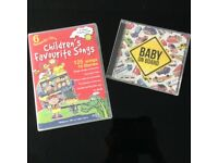SET OF 6 CD'S + 1 BABY ON BOARD CD