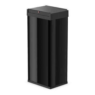 Hailo Waste Bin Dust Trash Disposal Box Big-Box Swing Size XL 52L Black 0860-241