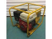 Honda 110v generator and extension lead