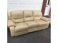 3 seater recliner sofa FREE DELIVERY IN LIVERPOOL