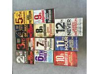 James patterson womens murder club books