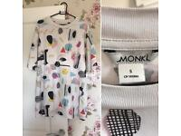 Monki Oversized Tshirt Size small 10/12