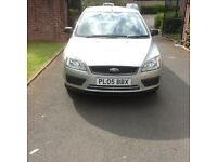 2005 FORD FOCUS 1.4 LX 3 Doors HatchBack Petrol Manual Silver 2 Owners Service History Sony Player