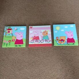 Peppa Pig canvas prints