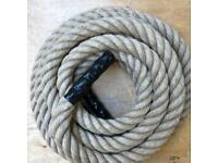 40mm jute battling rope x 10 metres