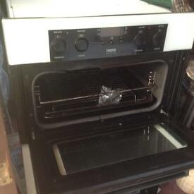 FREE Zanussi double oven