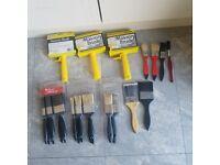 Various paint brush £0.3-£1.5