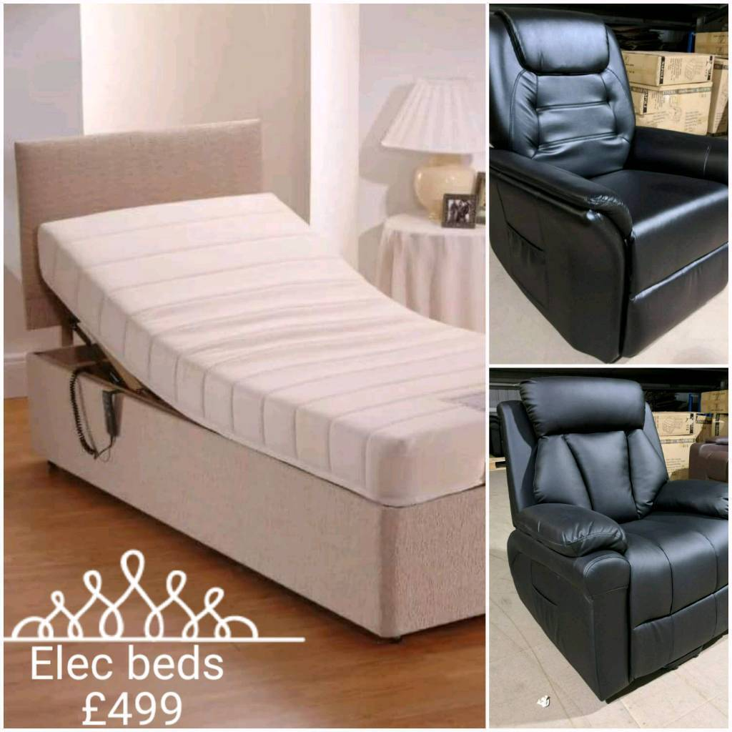 BRAND NEW ELECTRIC BEDS SINGLES & DOUBLES/ kingsize / super kings free delivery 07808222995