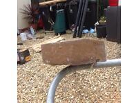 Hard wood door or window cill