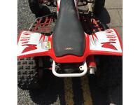 Honda trx 450r pro racing quad road legal