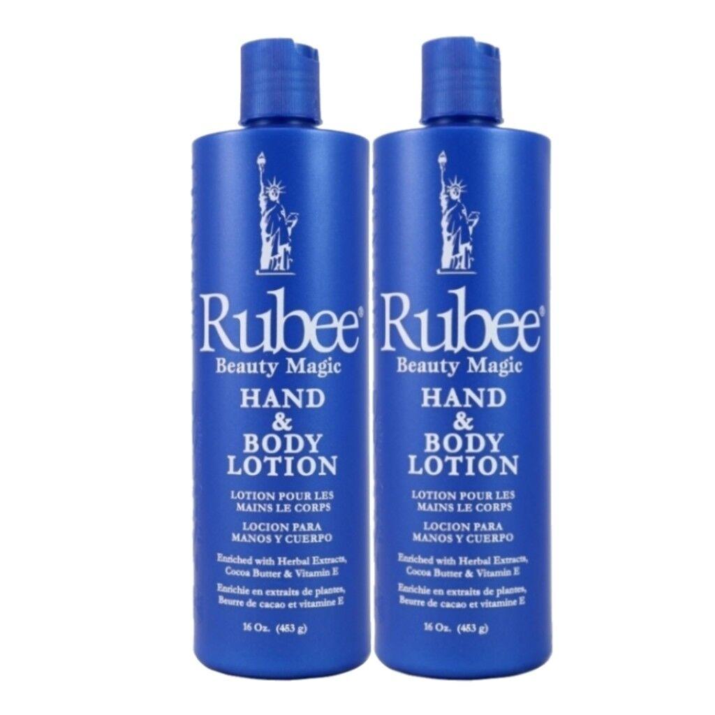 Rubee Beauty Magic Hand & Body Lotions  2-16 fl. oz. each