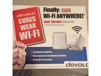 Devolo wifi booster starter kit (RRP: £79.99)