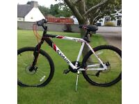Apollo Evade Mountain Bike. Virtually brand new and only done 80 dry road miles.