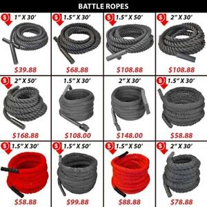 Covered | Rope | Crossfit | Battle | Battling | Woven | Endurance | Uncovered | Ropes | Nylon