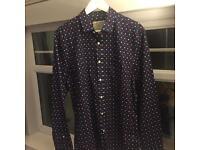 JACK WILLS - Size M Navy Floral Shirt