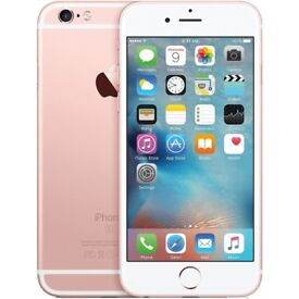 Rose Gold Apple Iphone 6S - 16GB, Unlocked, Perfect Condition, All Inclusive