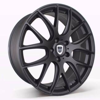 1X 19 INCH MATT BLACK Wheels suits Commodore,BMW3, FREE DELIVERY