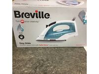 Breville Easy Glide Steam Iron 2200W White/Blue
