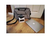 macbook air + Apple Tv + Original Bag