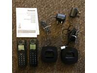 Panasonic Twinset Digital Cordless Phones (Ipswich IP1)
