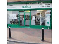 Dry cleaning, Laundry, Duvets, Curtains, Rugs,collected and delivery back to you.