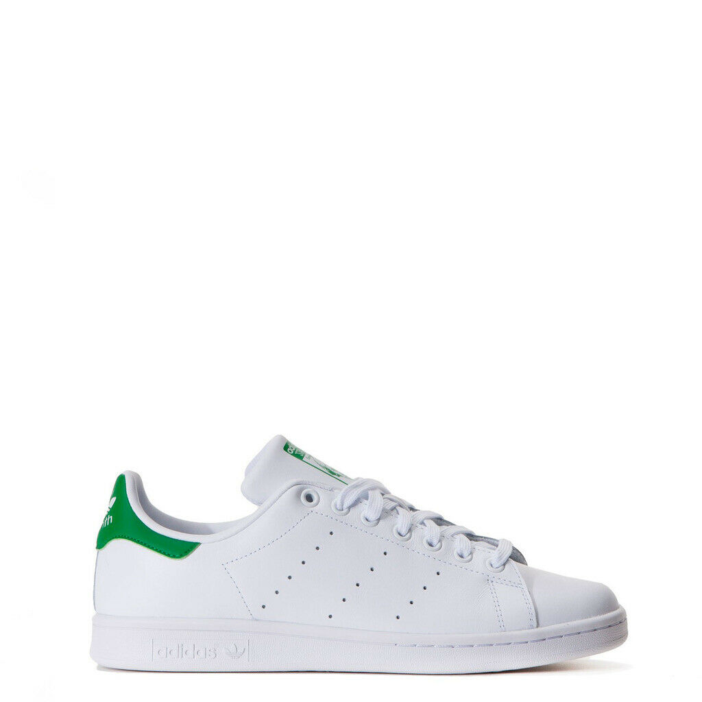 SCARPE ADIDAS STAN SMITH M20324_StanSmith BIANCO VERDE UNISEX M20324 SNEAKERS