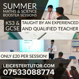Summer KS3 & GCSE Maths / Science Tuition - Qualified Teacher (Tutor Biology, Chemistry & Physics)