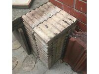 Garden edging - Decorative Concrete - 10 full size, 2 smaller