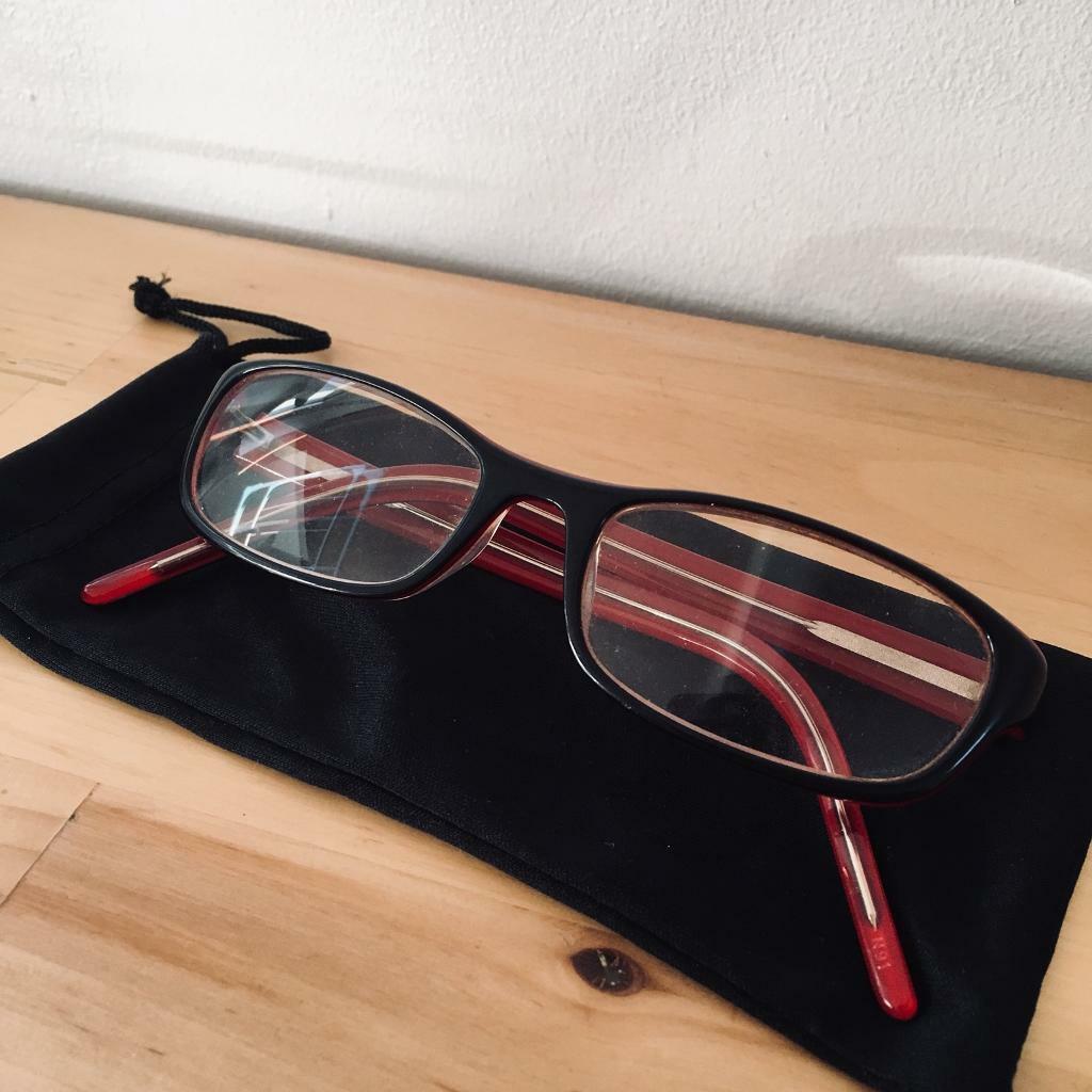 eb92087b8f46 Red   Black Specsavers Glasses