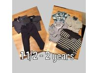 Boys clothes bundle 1 1/2 - 2 years